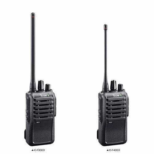Icom VHF Walkie Talkie Radio