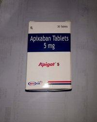 Apigat 2.5mg/5mg Tablet, Apixaban