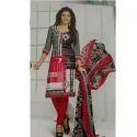 Hari Om Cotton Ladies Suit, Handwash
