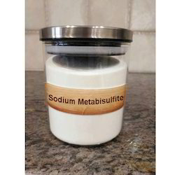Powder Sodium Metabisulfite, Packaging Size: Upto 1000g