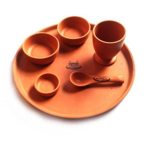 Terracotta Dinner Plate Set  sc 1 st  IndiaMART & Terracotta Dinner Plate Set at Rs 480 /set | Janak Park | New Delhi ...