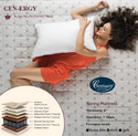 Centuare Cen Ergy 8 Bonnel Spring For Back Support With Pillow Mattress