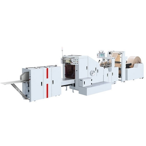 Automatic Disposable Paper Bag Making Machine, Voltage: 220 V