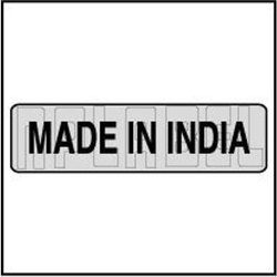Black & White 940565 Made In India Sticker Labels