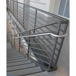 Steel Stair Handrail