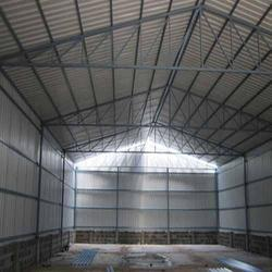 SS Shed Fabrication Service, Haryana, Mild Steel
