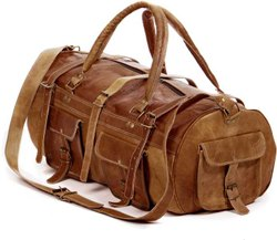 CENTURY OVERSEAS DUFFLE BAG LEATHER, For Travel