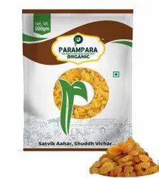 Yellow Raisins Nuts (Pili Kishmish), Packaging Size: 500 g
