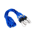 Blue Plain ID Card Lanyard