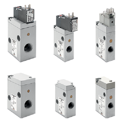 Camozzi Pneumatic And Electro Pneumatic Operated Valves
