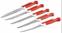 Knife Set 5 Pcs, Packaging Type: Box