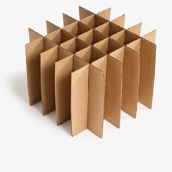 Corrugated Partitions
