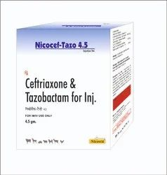 Bacterial Infections Ceftriaxone With Tazobactam Nicocef-Tazo 4.5 Injection, Treatment: Antibiotic