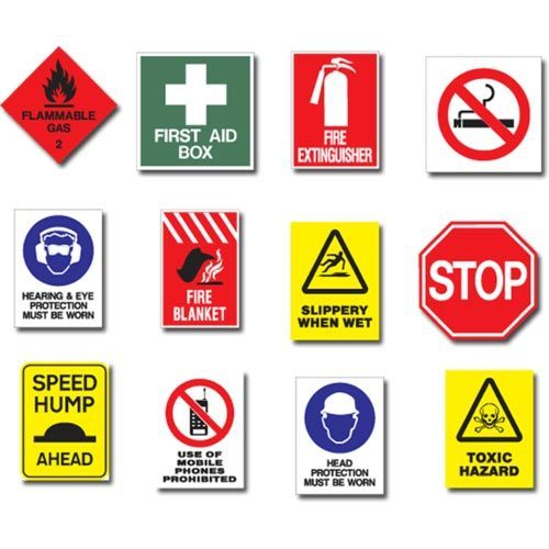 industrial safety signage at rs 300 piece safety signage id