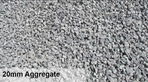Blue Metel (white) OWN BRAND 20 Mm Aggregate, A++, Packaging Type: Lorry (tipper)