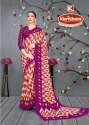Printed Silk Crepe Saree - Royal Plus-04