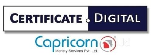 Newly Register Capricorn Digital Signature Certification Service