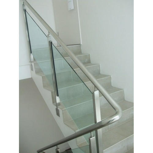 Stainless Steel Stair Glass Railing
