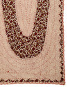 Rosy Brown Cotton OM Patchwork Wall Hanging