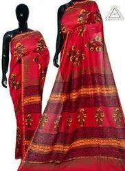 Wedding 5.2 M (Separate Blouse Piece) Chanderi Saree