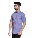 Mens Half Sleeve Cotton Shirt