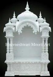 White Marble Handmade Temple