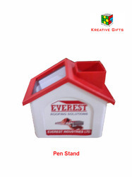 House Shape Plastic Pen Stand