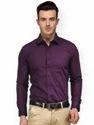 Purple Full Sleeve Formal Shirts