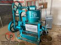 Oil expeller with cooking kettle