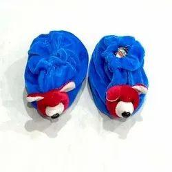 Blue Baby Fabric Shoes, Size: Zero