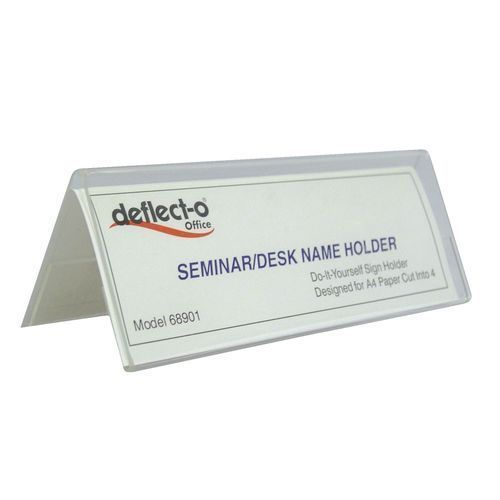 rectangular acrylic table name plate rs 300 piece s asterix