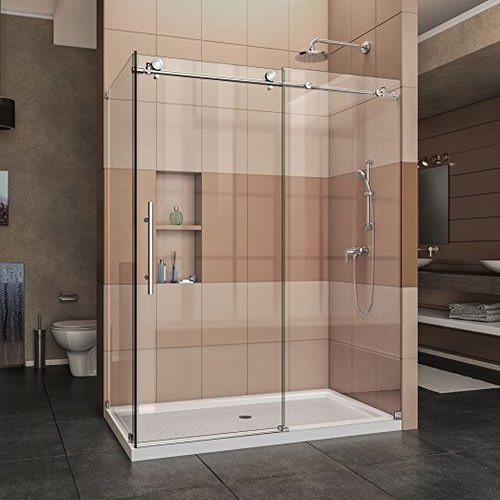 Frame Less Corner Type Shower Enclosure Steamers India Pune Id