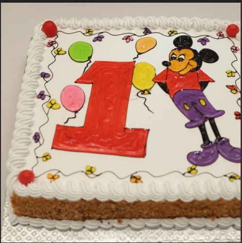 Outstanding Mickey Birthday Bash Cakes At Rs 1800 Piece Cake Id 19143066212 Funny Birthday Cards Online Elaedamsfinfo