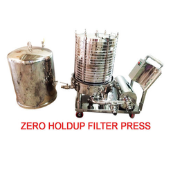 Zero Hold Up Filter Press