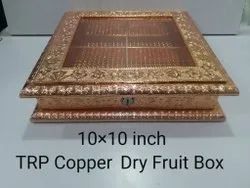 Transparent Wooden Dry Fruit Box