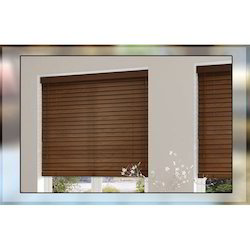 Horizontal Wooden Blinds