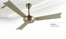 Metallica Antique Brass Ceiling Fan
