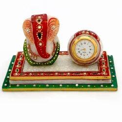Marble Chowki n Table Watch Set 376