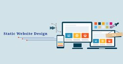 HTML5/CSS Static Website Development, With 24*7 Support