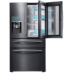 Grey Stainless Steel Samsung Fridge, Number of Shelves: 2, Compact