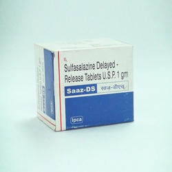Sulphasalazine Tablet, Packaging Type: Box