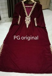P.G Designer Kaftan Womens Winter Wear