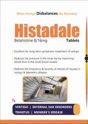 Histadale- Betahistine 8/16mg