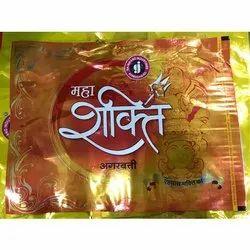 Gajanand Sawdust And Bamboo Mahashakti Plain Incense Stick, Packaging Type: Box