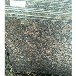 Polished Granite Ten Brown, Thickness: 15-20 mm