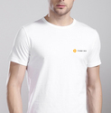 Mens Cotton Half Sleeve T-shirt, Size: L