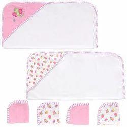 Baby Hood Towel Set