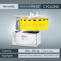 Heavy Duty Concrete Pan Mixer Cyclone