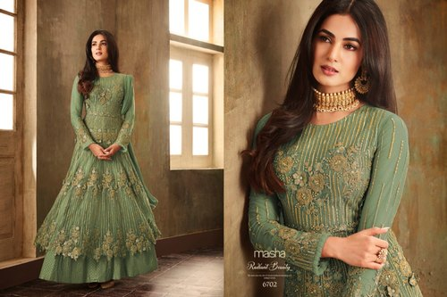 9edb9b121 Anarkali Style Hit Design Premium Quality Designer Pakistani Bridal Wear  Suit /