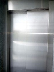 SS Plain Telescopic Auto Doors